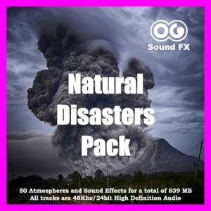 Natural Disasters Sound Effects Pack
