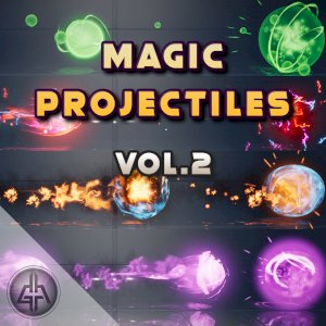 Magic Projectiles Vol.2 - UE4