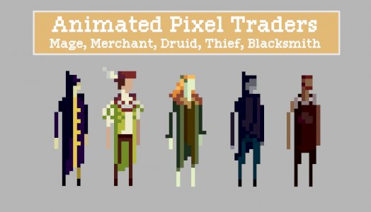 Animated Pixel Traders