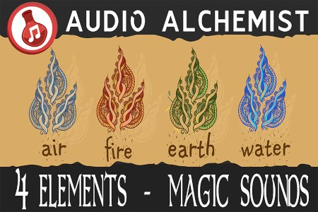 4 Elements - Magic Sounds (Air, Fire, Earth, Water)