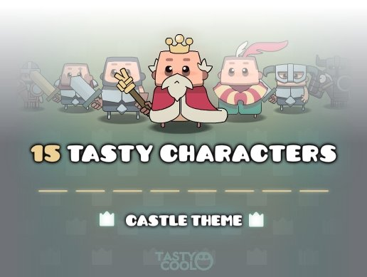 Tasty Characters - Castle Theme