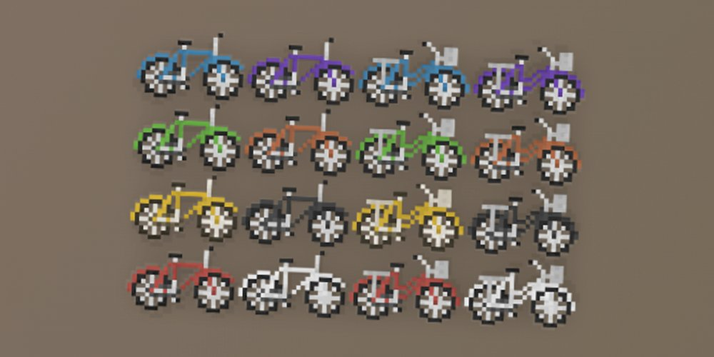 Moenen Pixel Collection - Vehicle