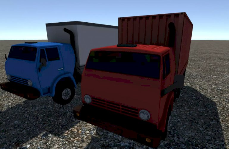 Industrial Small Truck Pack - V